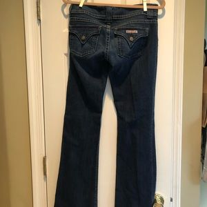 Low cute flare jeans